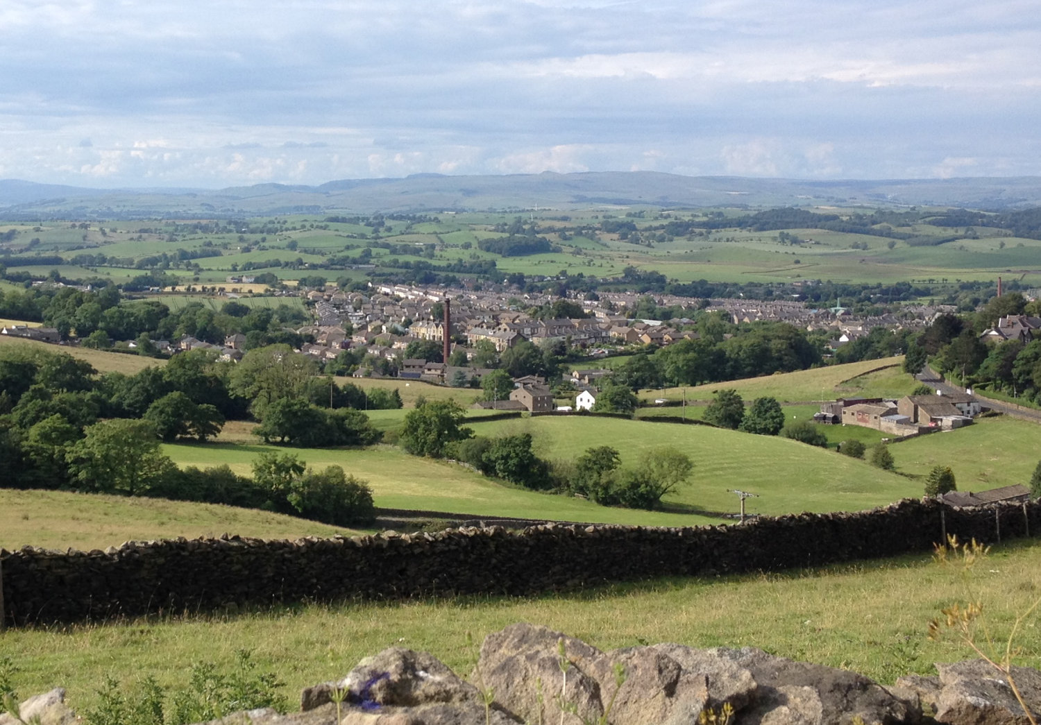 Barnoldswick and the Yorkshire Dales